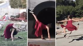 Öğrencilerin Bitmeyen İnşaatlara Danslı Protestosu