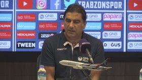Ünal Karaman: Bize Yakışmayacak Goller Yedik (Trabzonspor 1-2 Göztepe 22 Eylül Cumartesi)