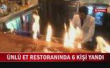 NusrEt'in Ateş Şovunda 6 Turistin Yaralanması