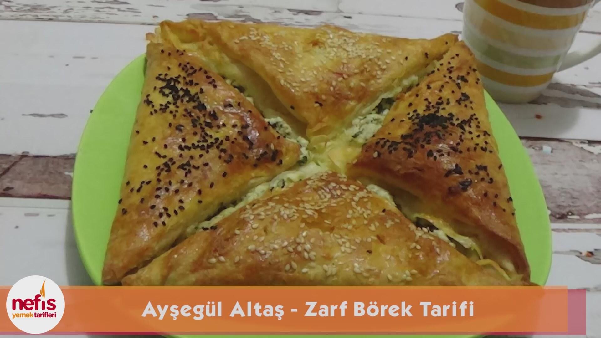 Zarf Börek Tarifi