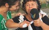 Sokak Röportajında Mikrofonu Rehin Alan Teyze