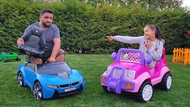 Melike Prenses Arabası Aldı Princess Car fun kid video