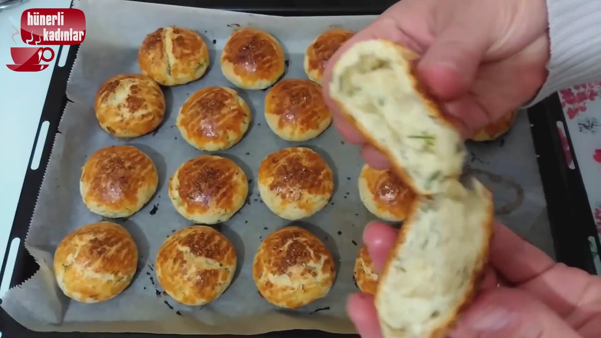 Mısır Ekmeği (DereotluBeyaz Peynirli)