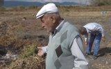 Konya'da Duman Çıkarıp Yanan Toprak