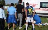 Dili Boğazına Kaçan Futbolcuyu Hayata Döndürme Hengamesi