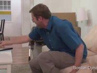 Boston Dynamics Robotunun Maraş Dondurmacısı Olması
