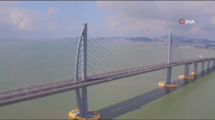 Dünyanın En Uzun Deniz Köprüsü Hong Kong-Zhuhai-Macau Açıldı