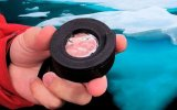 10.000 Yıllık Saf Buz ile Lens Yapıp Fotoğraf Çekmek
