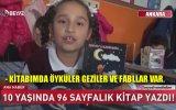 10 Yaşında Kitap Yazan Kız  Ankara