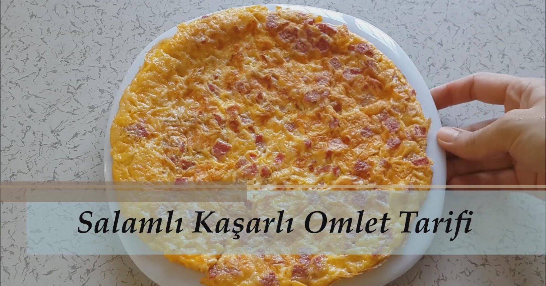 Kaşarlı Omlet Tarifi Videosu