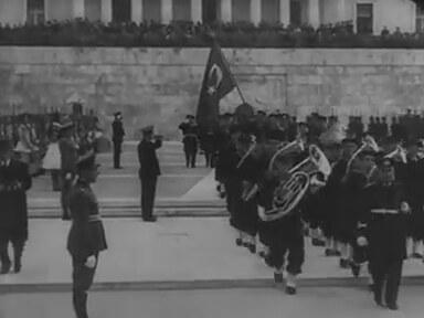 Türk Donanması Atina ' da - 1936