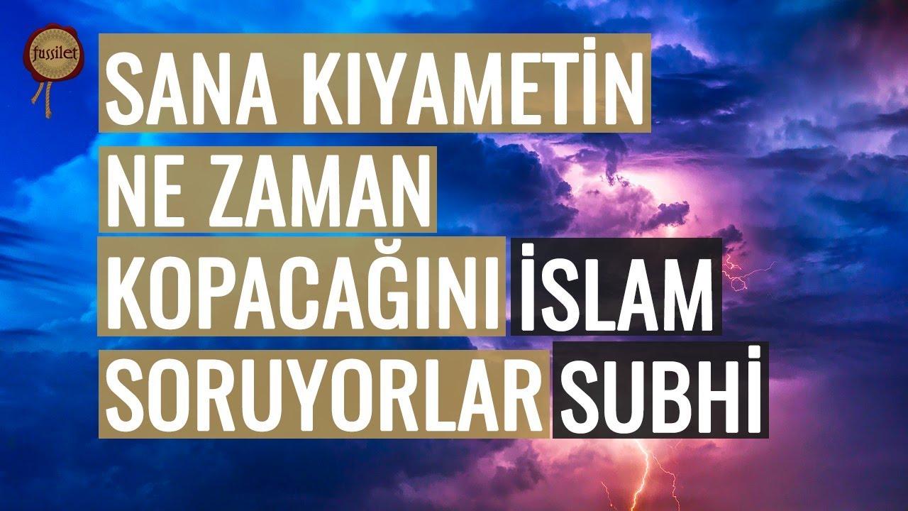 Onu Bilip Söylemek Nerede Sen Nerede! İslam Subhi - Naziat Suresi   fussilet Kuran Merkezi