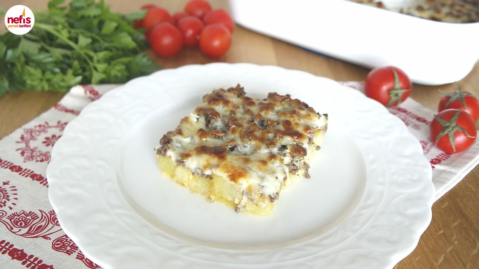 Fırında Yumurtalı Patates Tarifi Videosu