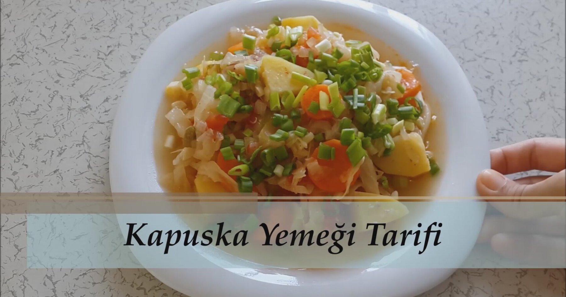 Etsiz Kapuska Yemeği Videosu