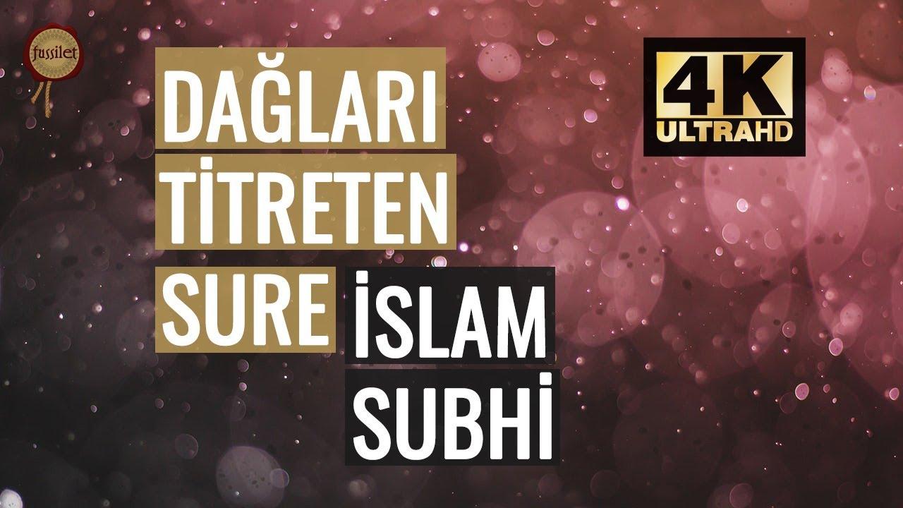 Dağları Titreten Sure! İslam Subhi - Haşr Suresi   fussilet Kuran Merkezi