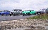 Lamborghini Urus, Tesla Model X, MercedesAMG G63 ve Range Rover Sport SVR Kapışması