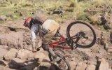Taklaya Gelen Dağ Bisikletçisi