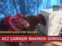 İlk Defa Çamaşır Makinesi Gören Kadınlar
