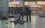 Almanlar'ın Havaalanındaki Film Gibi Terör Tatbikatı