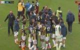 Trabzonspor U21  Fenerbahçe U21 Maçında Kavga