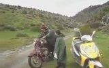 Motosiklet Çalışınca Deli Gibi Sevinen Dayı