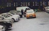 Taksicinin Turist Kadınların Yüzlerine Tükürmesi