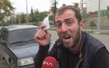 Polise ve Çekiciye Veryansın Eden Konuşkan Vatandaş