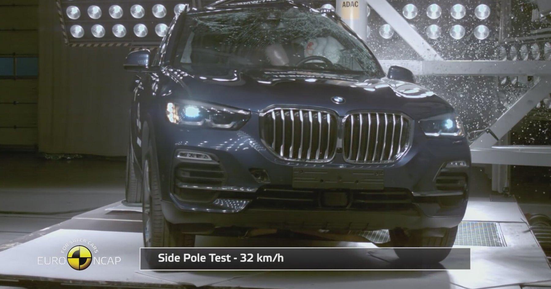 BMW X5 Çarpışma Testi