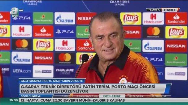 Fatih Terim: Melo ve Sneijder Bir Çağırsak Gelirler
