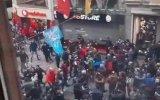 Trabzonspor Taraftarının Galatasaray Mağazasına Saldırısı