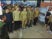 Koğuşu Kale Arkası Tribününe Çeviren Askerler