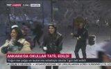 Trt Muhabirinin Canlı Yayında Kar Topuna Tutulması Kurgu İçerebilir