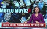 Türkiye'nin Mutlulukta 74. Sırada Olması