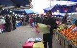 Seyyar Satıcının Pazarda 10 Kuruşa Poşet Satması