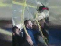 Yolcuların Kara Saplanan Otobüsü Zıplayarak Kurtarması