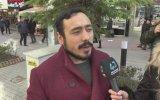 Röportaj Sırasında Yüzüne Püskürttüren Adam