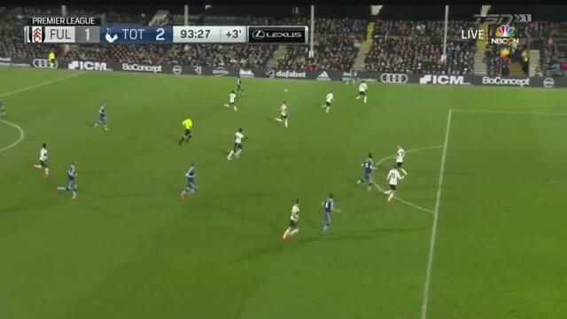 Fulham 1-2 Tottenham (MAÇ ÖZET)