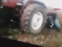 Eğlenirken Traktörün Altında Kalan Genç