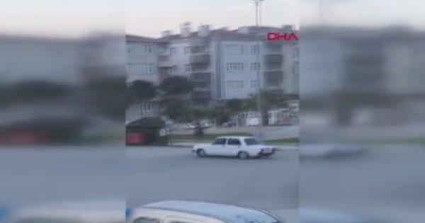Hacı Muratla Drift Yapıp Ayvayı Yiyen Sürücü