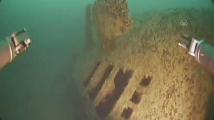 Şile Açıklarında Batan Alman Denizaltısı Bulundu