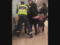 Güvenlik Görevlilerinin Hamile Kadına Şiddet Uygulaması