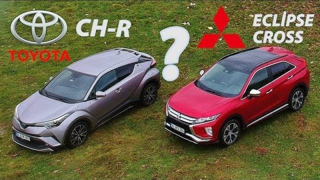 Toyota CH-R vs Mitsubishi Eclipsee Cross - Hangisi?