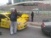 Yüzsüzlükte Zirve Yapan Taksici