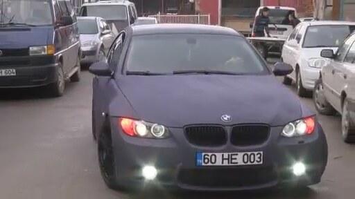 Kadife Kaplama BMW