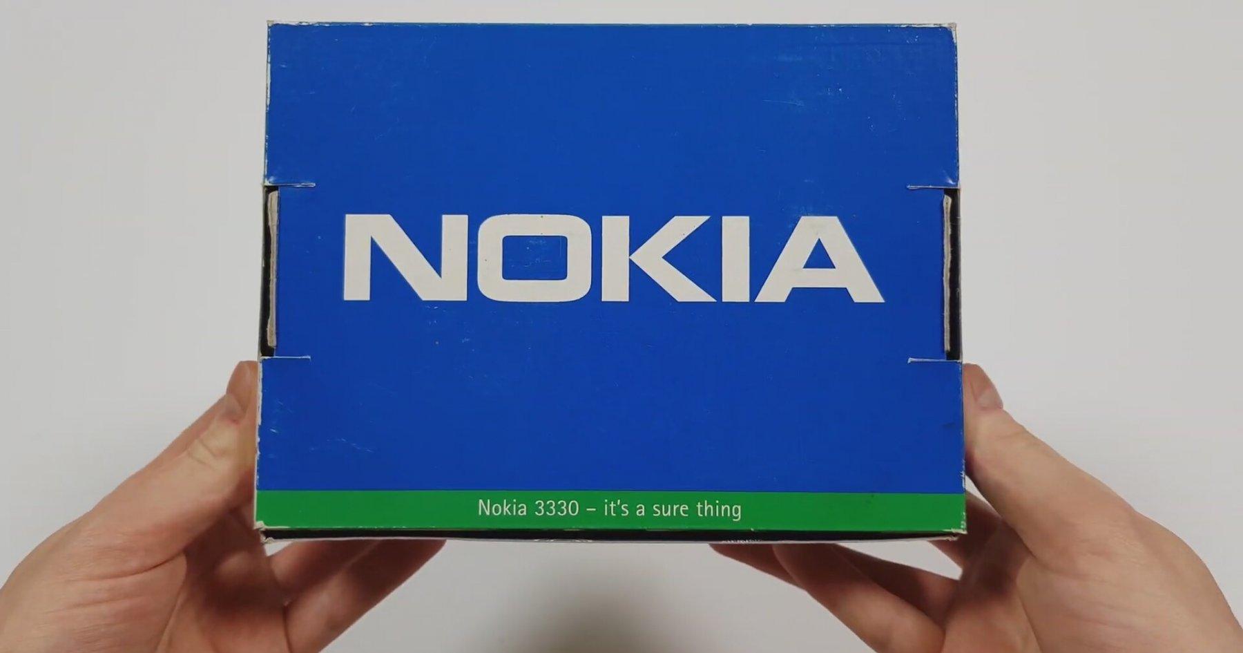 Nokia 3330 Kutu Açılış