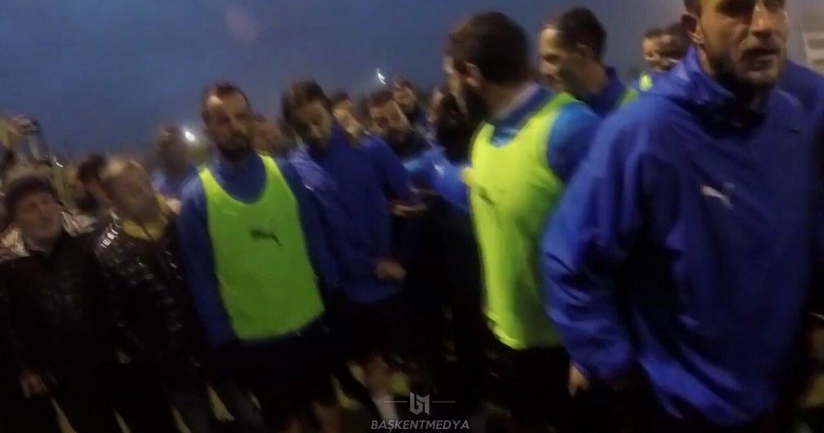 Yöneticilere ve Futbolculara Ayar Çeken Ankaragüçlüler (İbretlik Final)