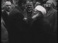 Atatürk ve Abdurrahman Kamil Efendi'nin Sohbetinden Görüntüler