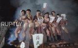 Japonya'da Çıplak Adam Festivali