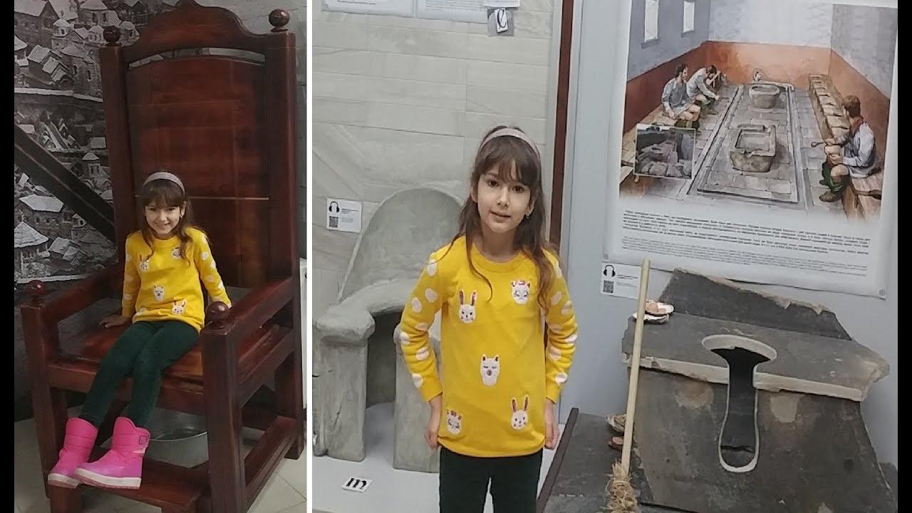 Böyle Müze Olur Mu ? Evet Var ... Tuvalet Tarihi Müzesi Ukrayna Kievde Gezdik