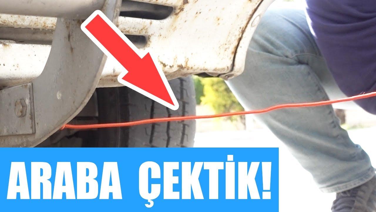 Sağlam Dediler Geldik: Dünyanın En Sağlam USB Kablosuya(?) Araba Çekmeyi Denedik! (Tata İçerir!)